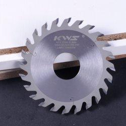 Tct ranurado de carburo- Hoja de sierra circular de metal duro Blade