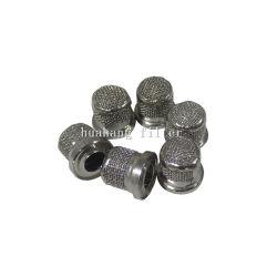 Différentes tailles d'acier inoxydable de la poudre en métal fritté filtre poreux