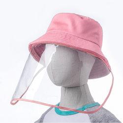 아이 일요일 어업 모자 반대로 분산 방어적인 물통 모자 얼굴 방패