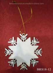 هدية من زينة تعليق الحرف الخشبية الصغيرة المصنوعة يدويًا في عيد الميلاد زينة