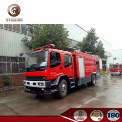 Isuzu Fvr 240HP 8ton 8000 리터 텐더 1800 갤런 물 거품 화재 싸움 트럭