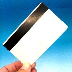 Banda Magnética 13.56MHz ICODE SLIX RFID de PVC tarjeta en blanco