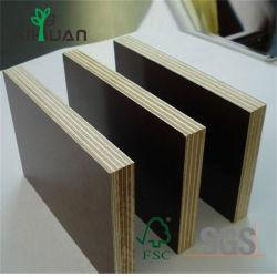 工場建築材料18mmのシラカバのコアフィルムは合板に直面した