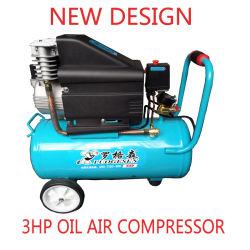 3HP de nieuwe Ronde Roterende Compressor van de Zuiger van de Schroef van de Lucht van de Motor Hoofd Draagbare Mini