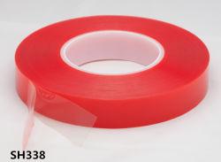 Somitape Sh338 горячая продажа Прозрачная полиэфирная двухстороннюю ленту ПЭТ для визуальной рекламы