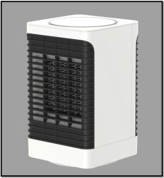 Heimerwärmere Geräte, Elektrische Halogen-Lüfterheizung