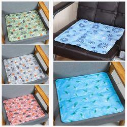 Impresa personalizada alfombrilla de gel frío para el asiento blando hielo tamaño 30*40cm.