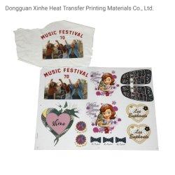 Pellicola di poliestere per la soluzione automatica di stampa della stampante di Epson dell'inchiostro del pigmento della tessile di stampa di Digitahi del contrassegno di stampa di scambio di calore