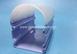 Personalizados de Extrusão de plásticos lâmpada LED Sombra