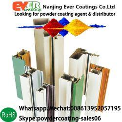 Tuyaux en acier inoxydable/profils aluminium RAL1023/RAL1028/RAL1037 Revêtement Poudre