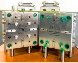 플라스틱 사출 금형 OEM 고정밀 금형 제작자 주입장치 2 샷오버 몰딩 자동차 부품