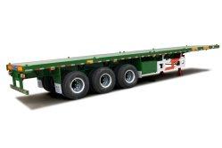 Cimc Tri-Welle 40FT Flachbettchassis-halb Schlussteil-LKW-Schlussteil-Traktor-Schlussteil des behälter-60t