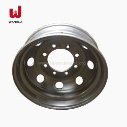 22.5X6.75 camion-remorque Jante de roue en acier pour les pneus de camion 9r22.5