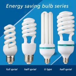 5W 9W E27 T3/T4/T5 в полной мере половина спираль трубы лампы CFL2U/3U/4u энергосберегающие лампы освещения/ Lotus Энергосберегающие светодиодные лампы