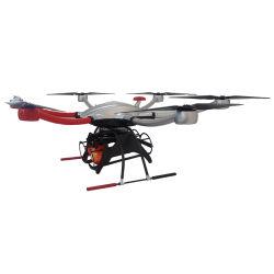 Bombas de extinción de incendios de transporte eficiente de la Cámara de Extinción de Incendios Drone volando