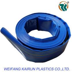 빨강 또는 Blue/Green 무겁 의무 PVC Layflat Pump Discharge Water Hose