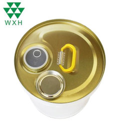 Leerer Geschlossen-Kopf anhaftende Metallzinn-Wanne für Lack, industriell, Öl