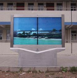 Im FreienTV mit vollem Gehäuse-Entwurf des MetallIP65 für im Freienanwendung tadellos befestigen