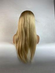 Средняя часть кривой тела 13*4 кружевной передней части 28-дюймовый бразильского Сен Реми прав 613 русые глубокую часть предварительного Plucked Wig с ребенком волос
