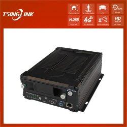 Disque dur à distance en temps réel de l'enregistreur vidéo mobile 4G DVR avec 8 canaux GPS Entrée de réseau