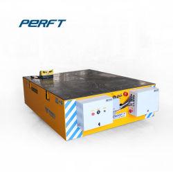 Véhicule électrique contrôlés par le PLC de manutention Chariot de transport de marchandises