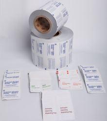 Aluminiumfolie-Verpacken-Material für das Verpacken medizinisch Using Reinigungs-Wischer, Putzlappen, /Sticks und Kaffee, Zucker
