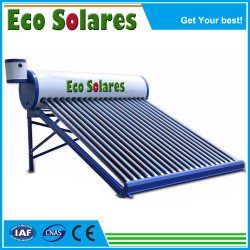 Compacte vacuümbuis met hoge druk van 200 l, zonne-energie, verwarming van warm water Systeem