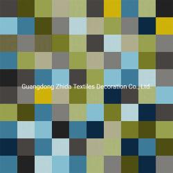Produtos têxteis Zhida cores da moda Verificar Impresso Estofos em veludo tecido Sofá