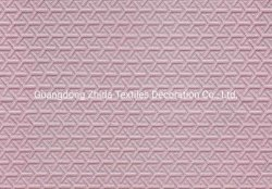 Hotel Twist 3D clásico textiles tejidos de algodón tejido sofá tapizado en seda