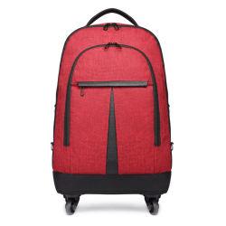 Roues chariot roulant Loisirs Voyages d'affaires décontractée Ordinateur portable portable sac à dos Sac de cas de bagages Pack (CY6910)