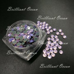 Opal Rosa Luz Cristal Super Premium Hot Fix Rhinestones para Accesorios Textil