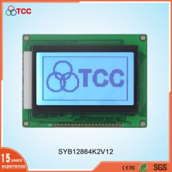 Industrie Großhandel 3,1 Zoll 128X64 Graphic Dots Matrix Stn/FSTN Display Module St7920 Controller 20Pins 12864 LCD-Bildschirm