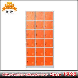 鋼鉄家具18のドアの鋼鉄ロッカーの戸棚