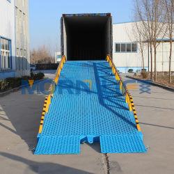 6T 8t 10t 12t 15t Hydraulischer Elektro-/Handstapler/Mobiler Container-Gabelstapler Laden/Laden Dock-Plattform-Plattform Hof Rampe