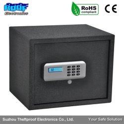 Sólido Acero alta resistencia de lujo electrónico contraseña de alta seguridad electrónica Caja fuerte sistema motorizado Smart LCD cajas fuertes Gabinete de seguridad