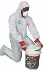처분할 수 있는 PPE 방어적인 미소한 구멍이 있는 유형 3 4 5 6 안전 Cat3 En14126 유럽 기준 작업복