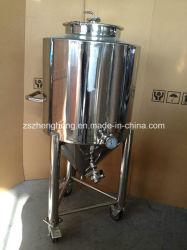 Fermentatore rivestito della birra dell'acciaio inossidabile
