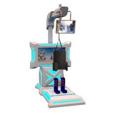 Parco colorato Sci VR Game Theatre 3D 9d 5D Dynamic Sci realtà virtuale