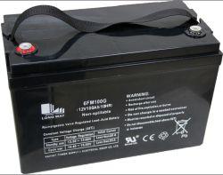 Batería de Plomo Ácido Coche Eléctrico Recargable UPS AGM 12V100ah