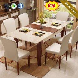 Tabella di legno del ristorante della melammina di stile del salone esterno domestico cinese moderno dell'hotel che pranza Furniture
