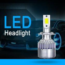 Commerce de gros bon marché Auto C6 H1 H3 H11 H13 9007 9005 9006 HB3 HB4 5202 H4 H7 Projecteur LED LED lampe de feu de voiture 72W 8000lm
