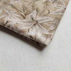 Druck-Gewebe kundenspezifischer Baumwollorganischer Smokinghemd-Muster-Digit-Ausgangstextilindustrie-Bettwäsche-Kissen-Kleid-Leinenvorhang