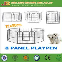 高品質8は80*80cmの練習の塀の飼い犬の子犬機構のベビーサークルのケージの犬小屋の木枠にパネルをはめる