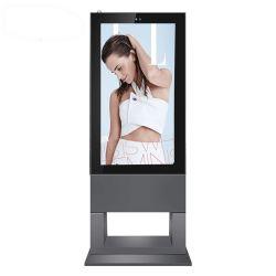 Niedriger chinesischer Bildschirmanzeige-im Freiendigitalsignage-Solarbildschirm des Preis-55inch bekanntmachender