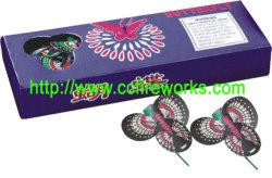Butterfly (MID) Suelo hiladores de fuegos artificiales (0435B)
