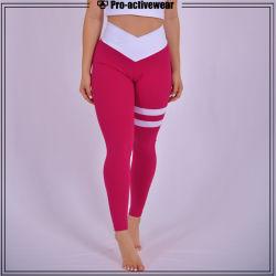 2018 nouveau style de femmes Vêtements sports yoga pantalons taille haute