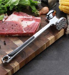 Aleación de zinc ablandador de carne a Doble Cara Non-Slip manejar un martillo de la carne de la herramienta de cocina Esg16353