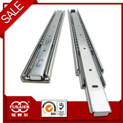 45mm trois billes d'extension complète des coulisses de tiroir à roulement à billes