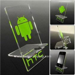 Suporte da tela do telefone móvel de acrílico para telefone celular HTC BTR-C4005