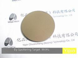 Dy Dysprosium отличается неравномерностью Target 3n Китай Target производство покрытие для испарения материалов